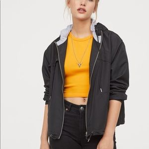 H&M Black Windbreaker